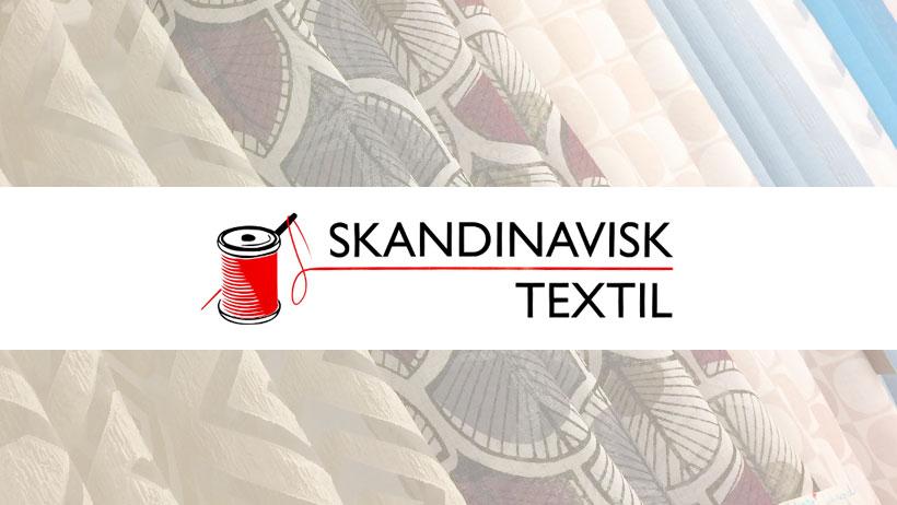 Skandinavisk textil logo