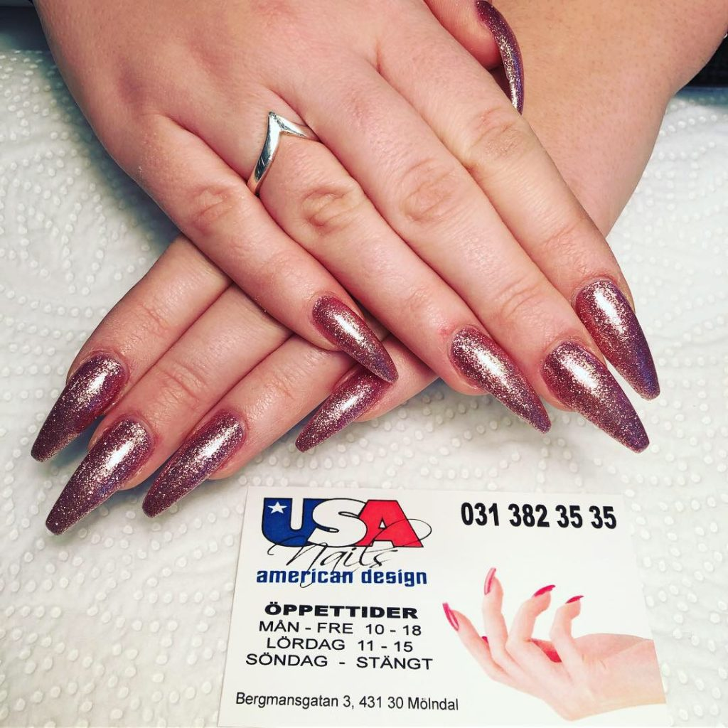 USA Nails calling card